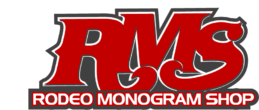 Rodeo Monogram Shop